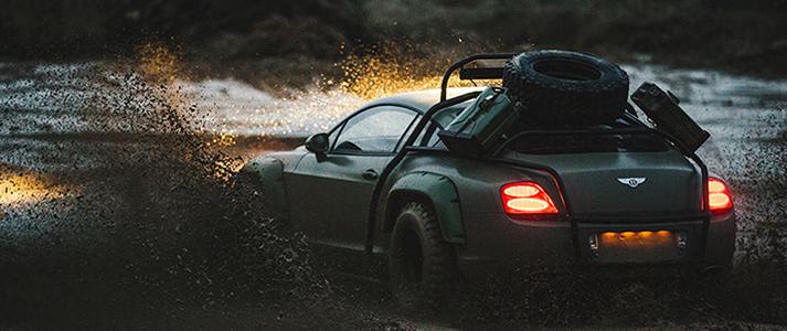 Bentley Rally Car 1