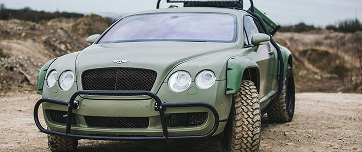 Bentley Rally Car 2