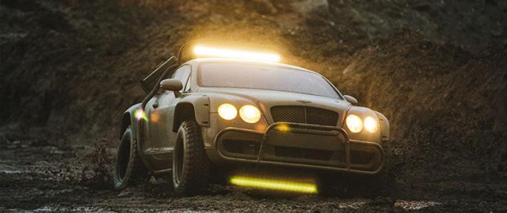 Bentley Rally Car 3