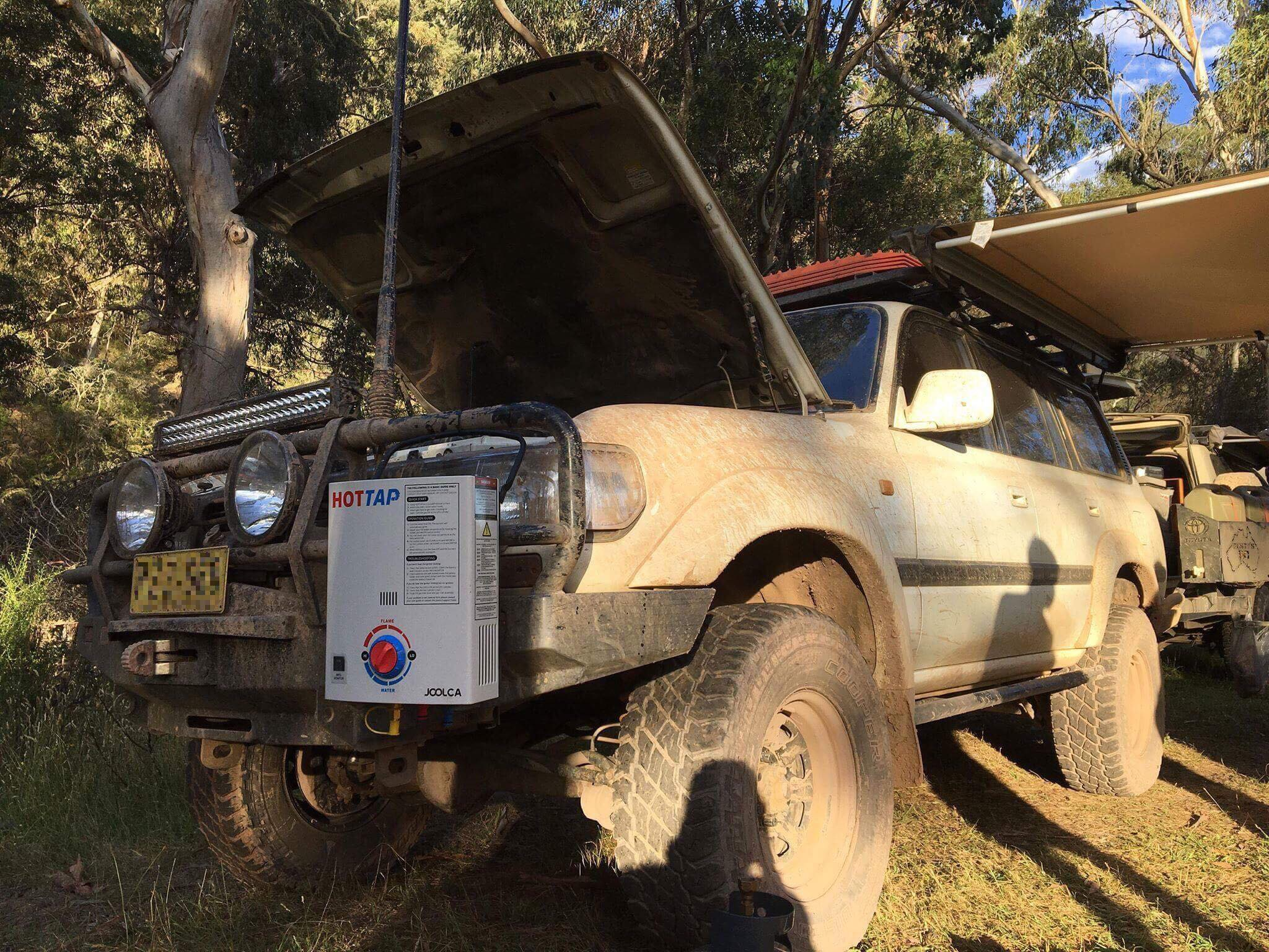 My Drive Profile: Rusty's 80 Series Landcruiser,   Sparesbox