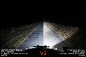 ST4K Stedi Light Bar Comparison