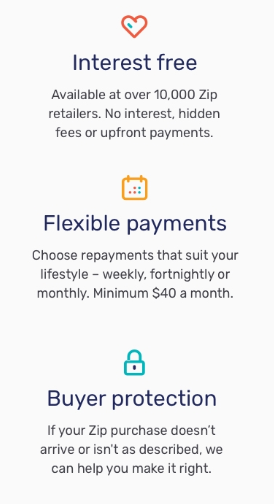 Zip Pay Tools Payment Information