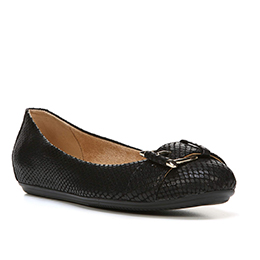 Bayberry Black Flats