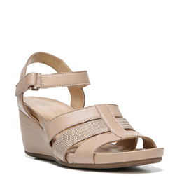 Calista Tender Taupe Wedges