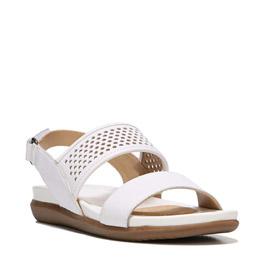 Skyler White Sandals
