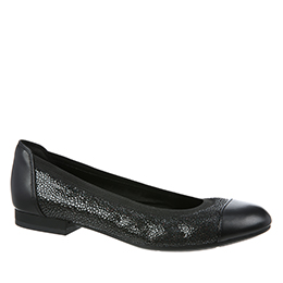 Therese Black Pebble Flats