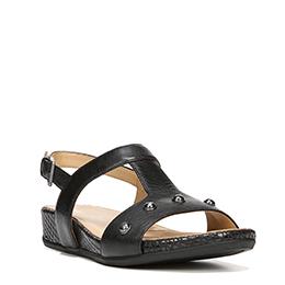 Yardina Black Sandals