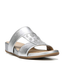 Yelena Silver Sandals