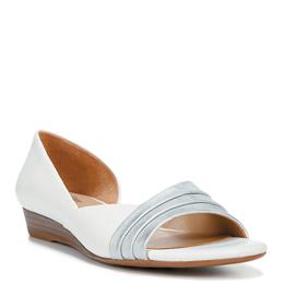 Jenah White/Silver Sandals