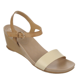 Silva Pale Ivory/Tan Sandals