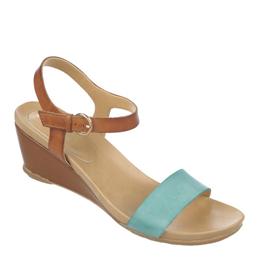 Silva Spinach/Tan Sandals