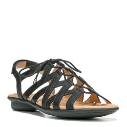 Whimsy Black Sandals