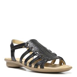 Whisper Black Sandals