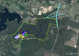 Beerwah SF/Mooloolah Logging Area-Motorsport & interchange