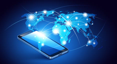 AConnect- call-forwarding-is-good-for-your-business-world-map-office-phone-network