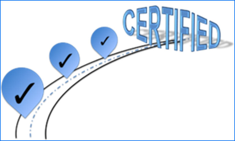 Why do businesses undertake the certification journey?