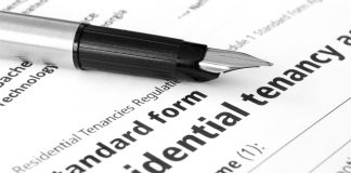 rental application form lease document