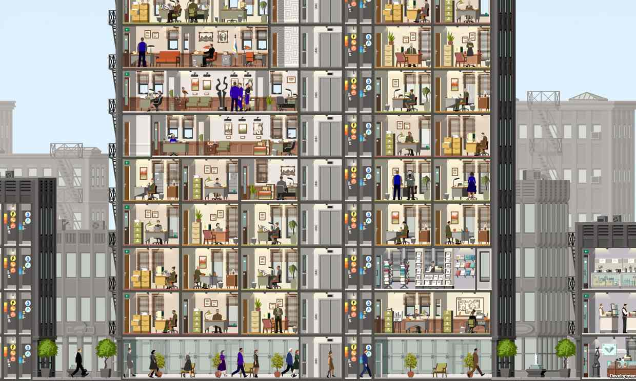 Project Highrise … 'Before too long, after filling six or seven floors, I forgot about them as individuals.' Photograph: SomaSim