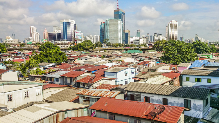 Inequality is both social and spatial in nature across cities such as Bangkok, Thailand. Hesam Kamalipour, Author provided