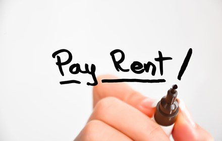 budget ahead for your rent payments in advance.
