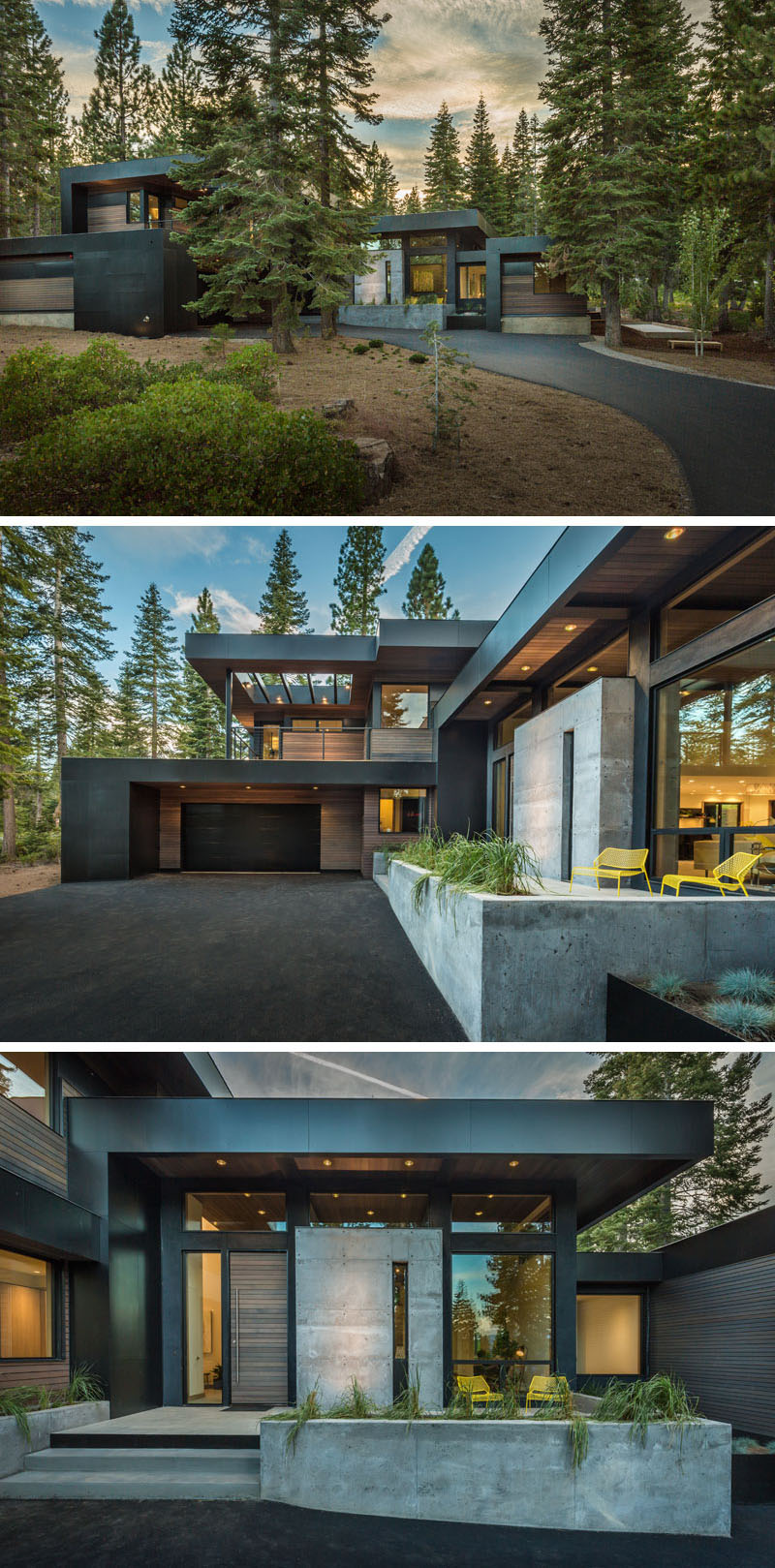 15 modern houses to make you feel at home in the forest