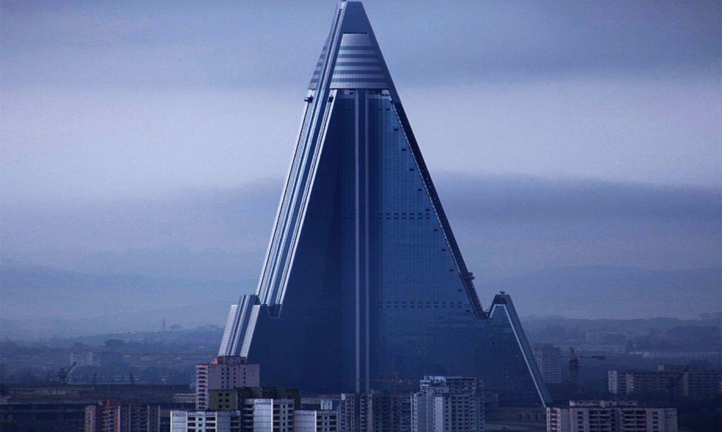 Ryugyong Hotel, North Korea