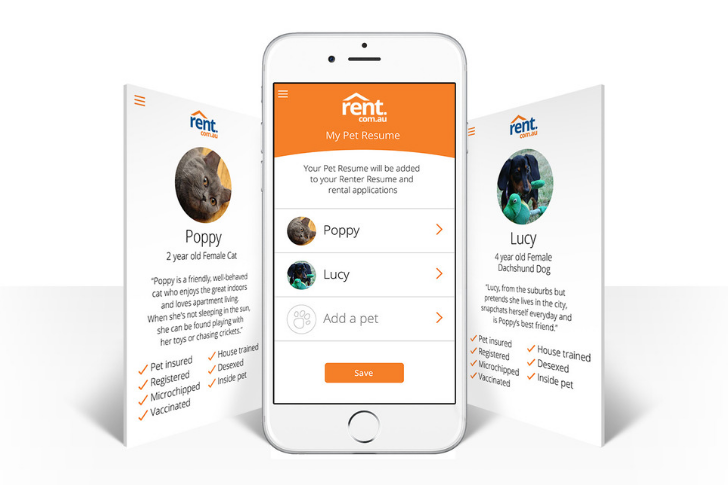 Pet Resume - Put your furry friend (dog, cat or other) in the spotlight with your next rental application