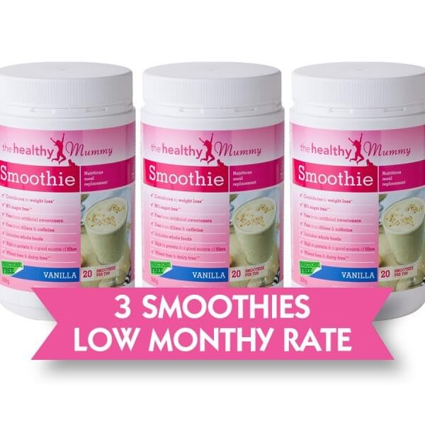 Healthy Mummy 3 Smoothie Subscription