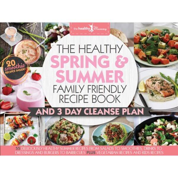 spring summer family recipe book