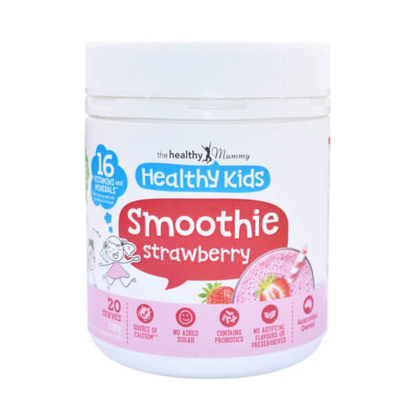 Healthy-Kids-Strawberry-Smoothie