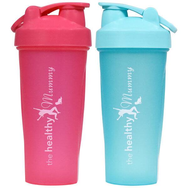 Pink-and-aqua-shaker
