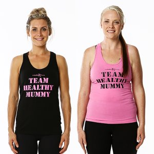 Double Pack - Team Healthy Mummy Singlets