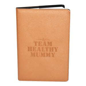 health mummy gold notebook