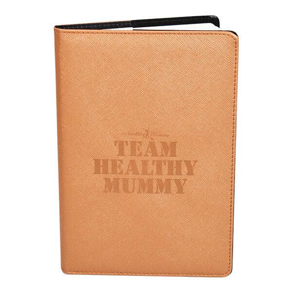 health mummy gold notebook