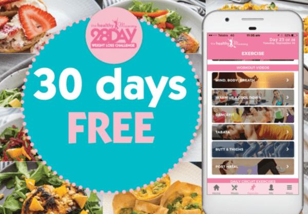 Healthy Mummy 30 Days Free