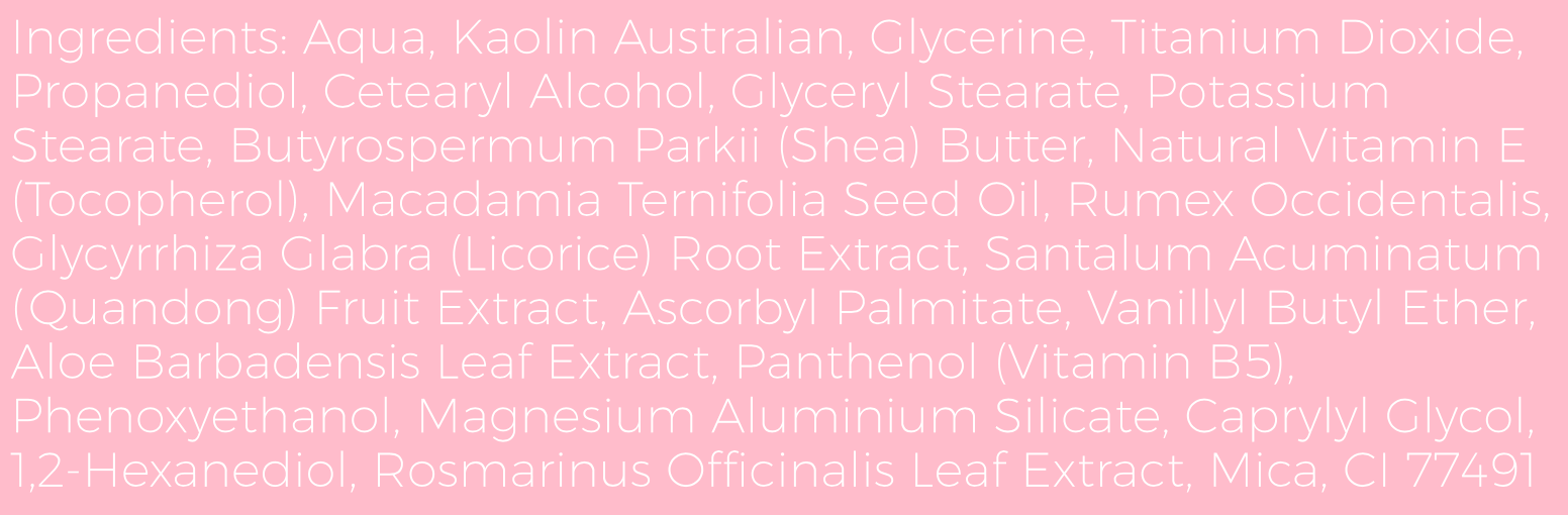 Australian-Pink-Clay-Mask-Ingredients-List-