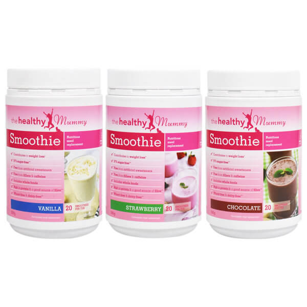 healthy mummy smoothie 3 pack