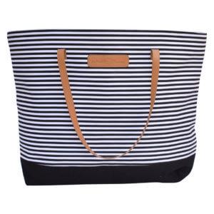 Black Stripe Bag