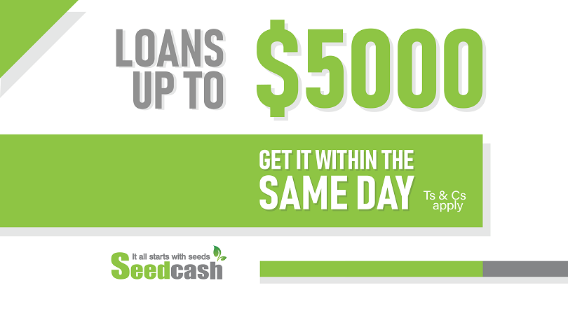 Apply a loan now up to $5000