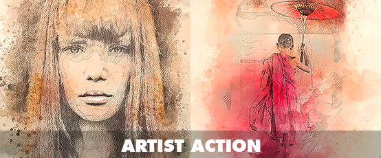 Watercolor Photoshop Action - 21