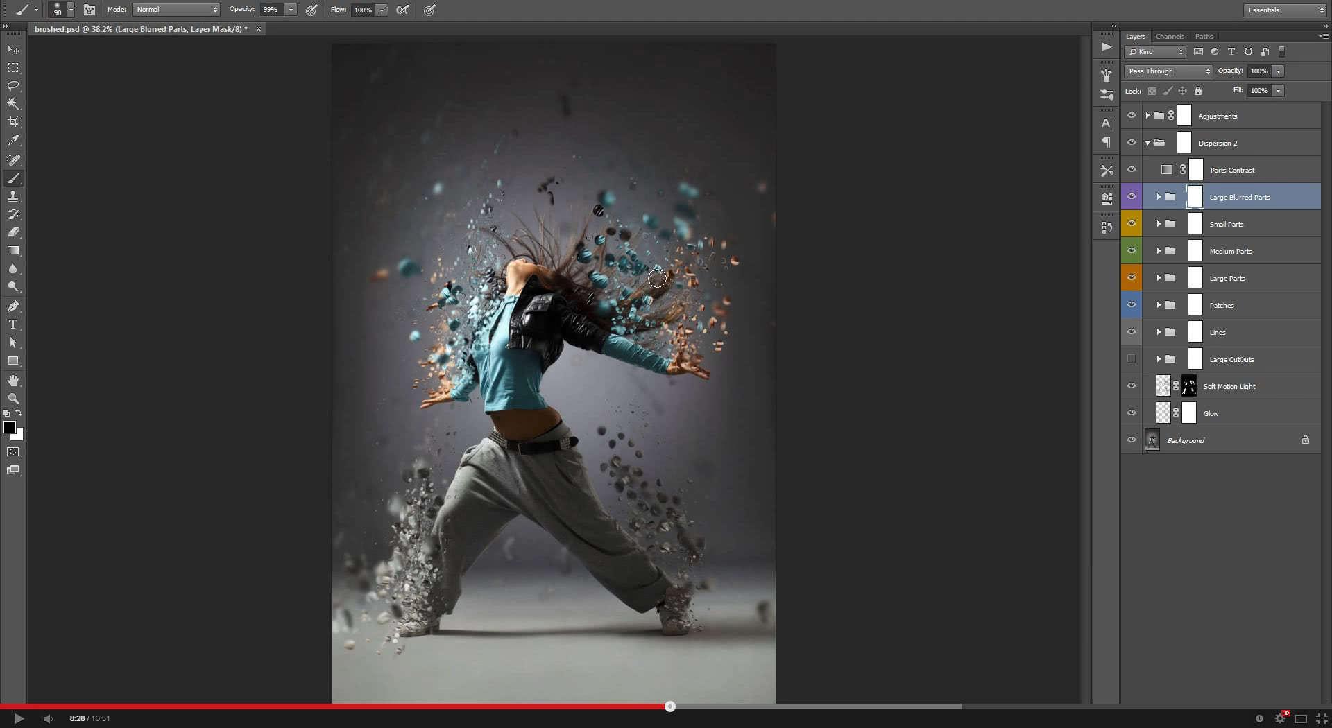 Dispersion 2 Photoshop Action - 1