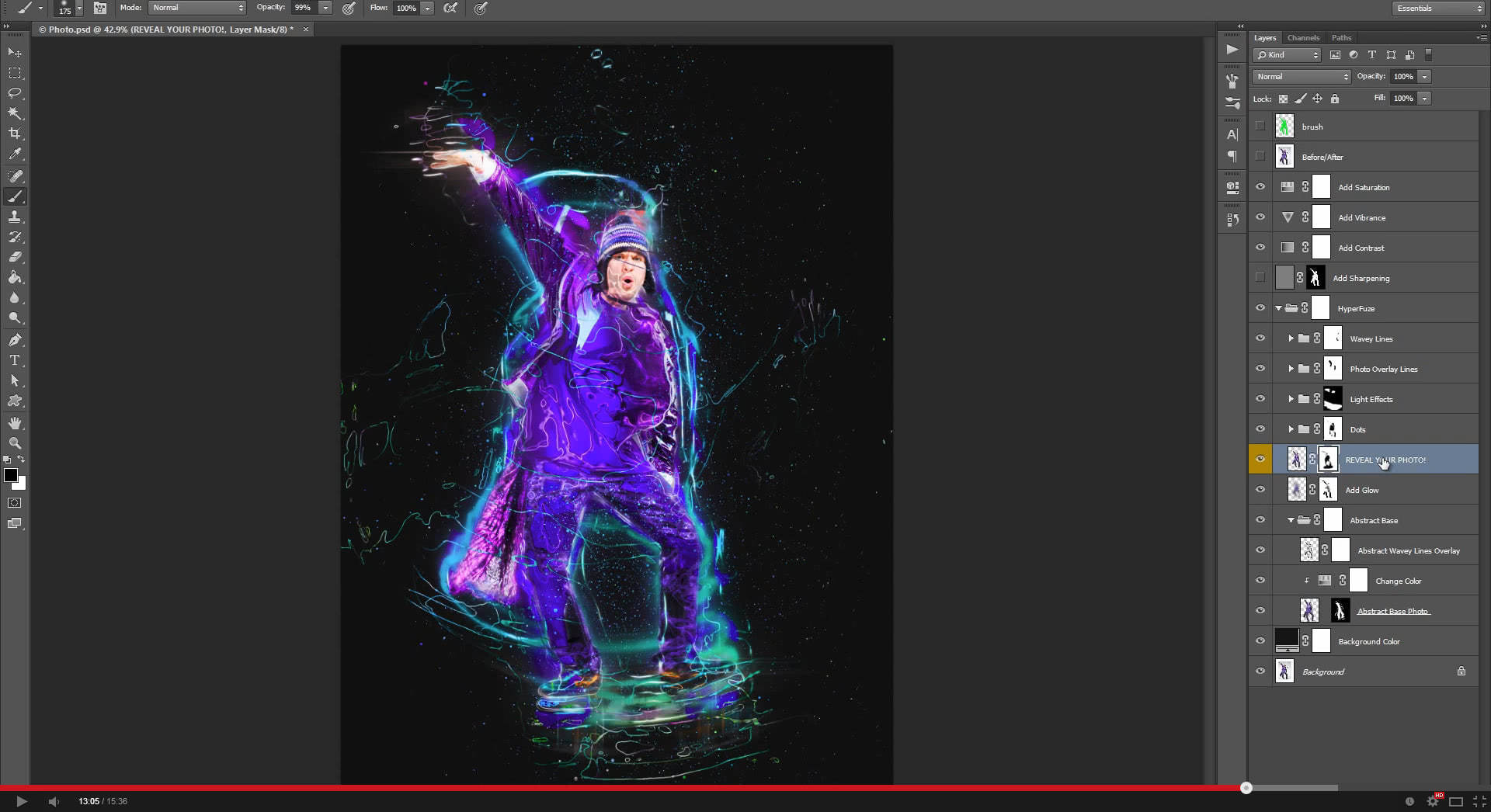HyperFuze Photoshop Action - 1