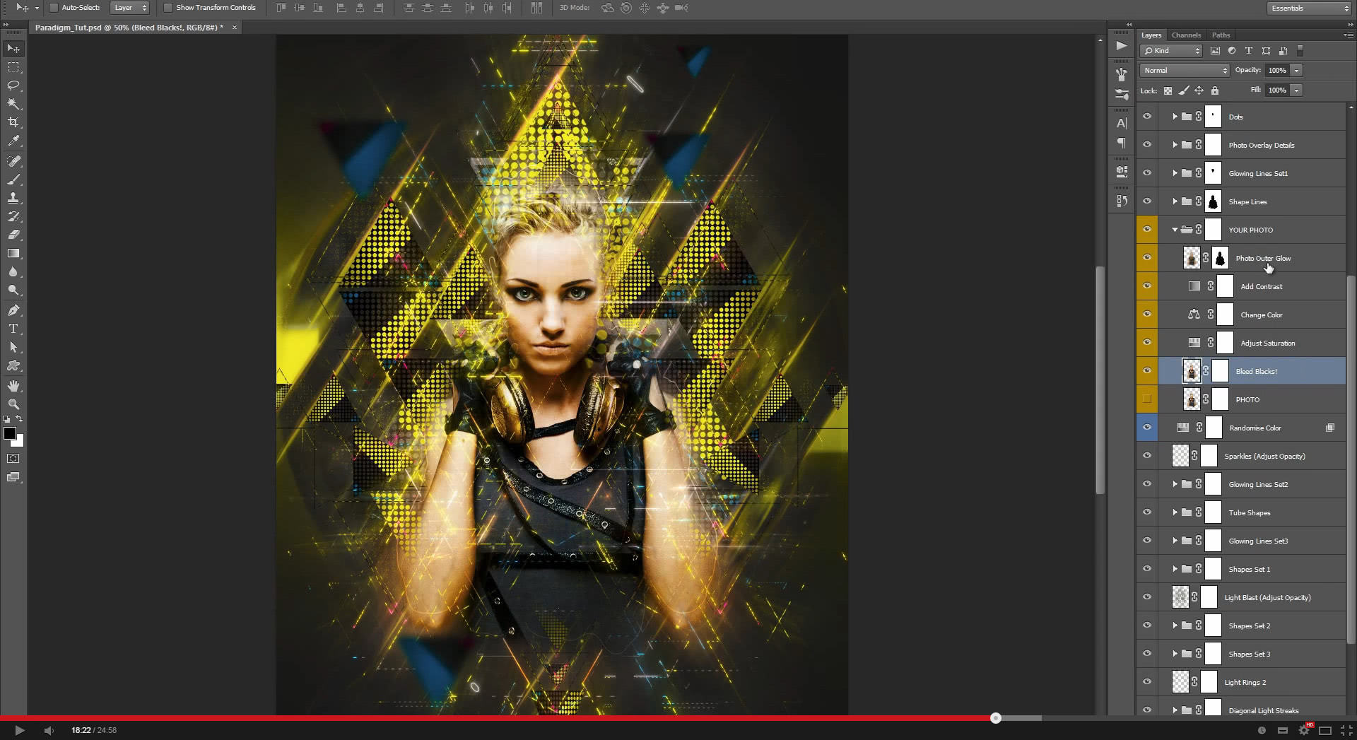 Paradigm Photoshop Action - 1