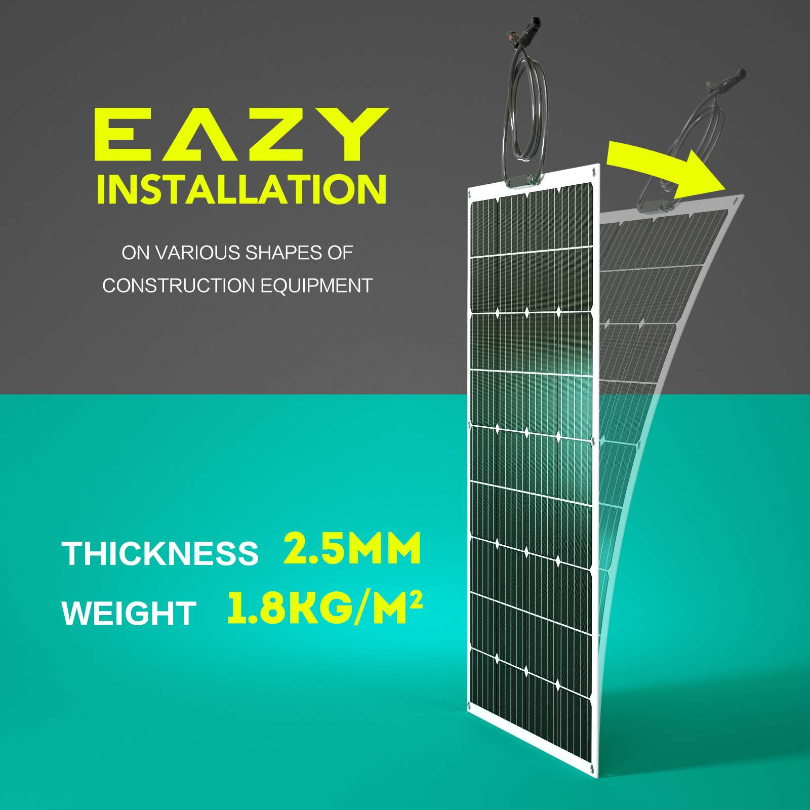 15-OFF-100W-120W-200W-250W-Flexible-Solar-Panel-Kit-Mono-Caravan-Power-Charging thumbnail 16