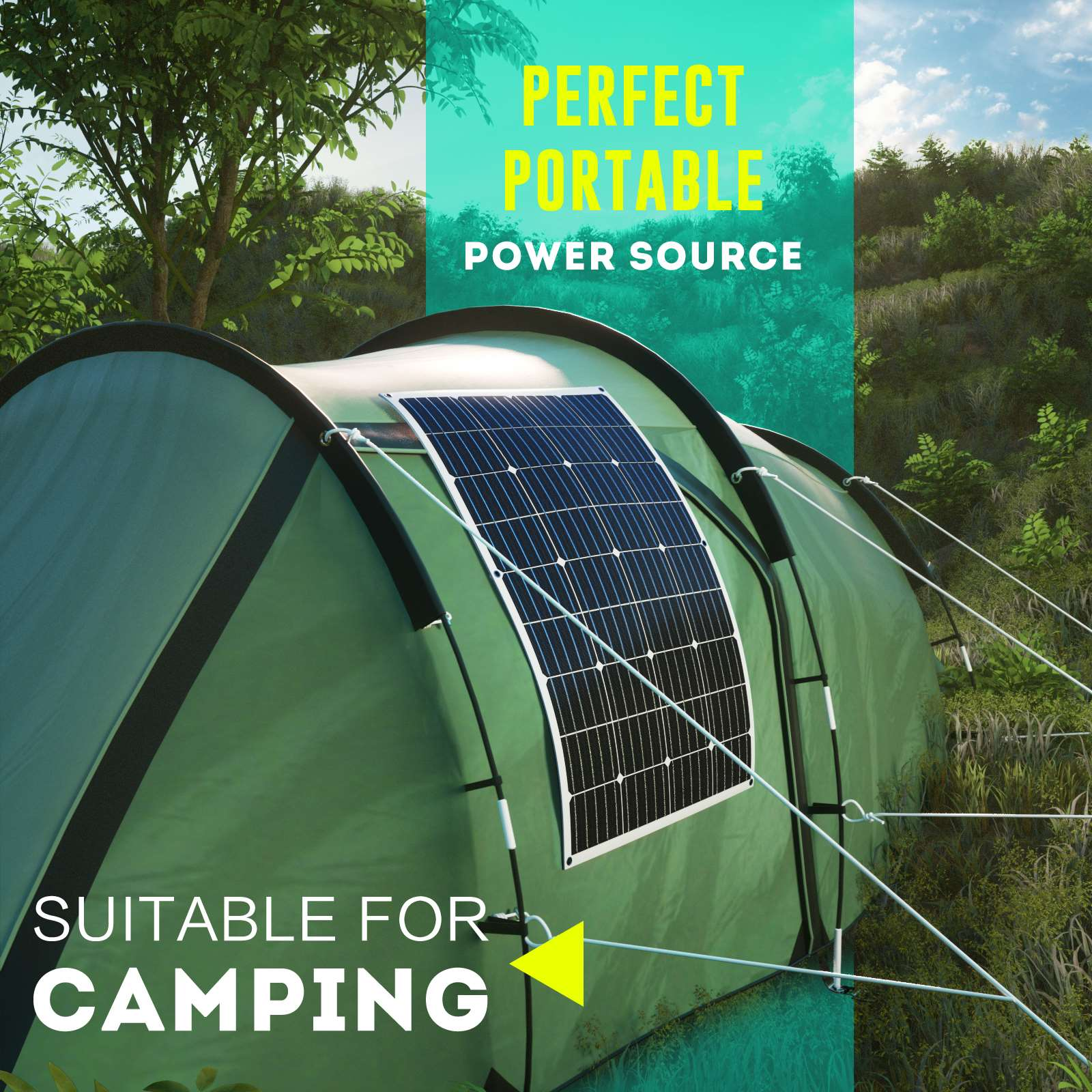 15-OFF-100W-120W-200W-250W-Flexible-Solar-Panel-Kit-Mono-Caravan-Power-Charging thumbnail 23