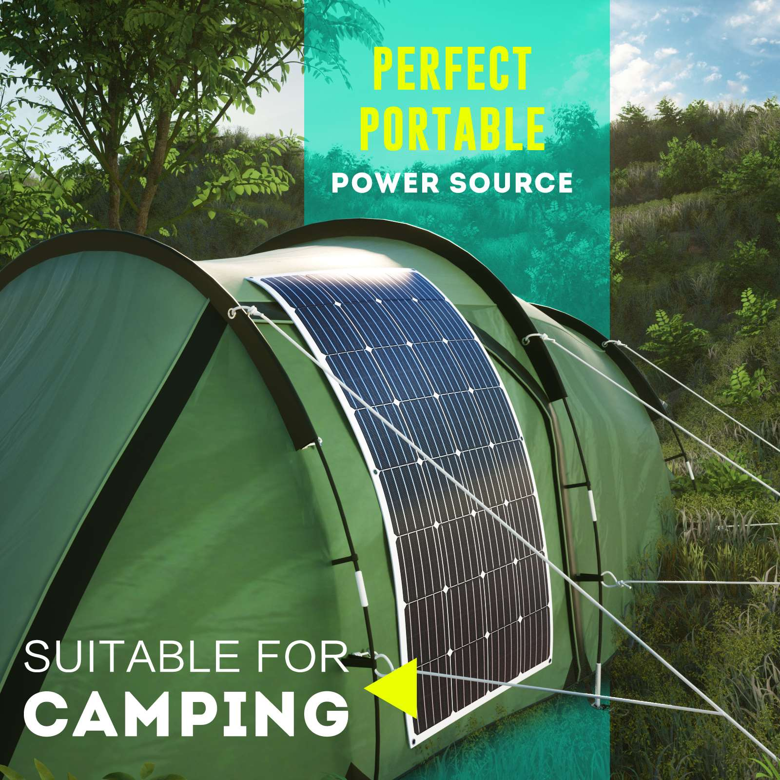 15-OFF-100W-120W-200W-250W-Flexible-Solar-Panel-Kit-Mono-Caravan-Power-Charging thumbnail 35