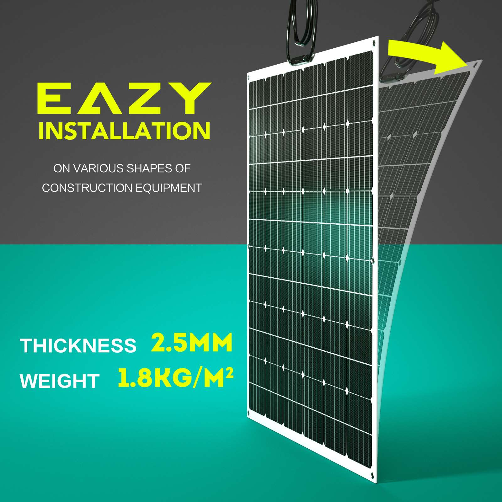 15-OFF-100W-120W-200W-250W-Flexible-Solar-Panel-Kit-Mono-Caravan-Power-Charging thumbnail 40