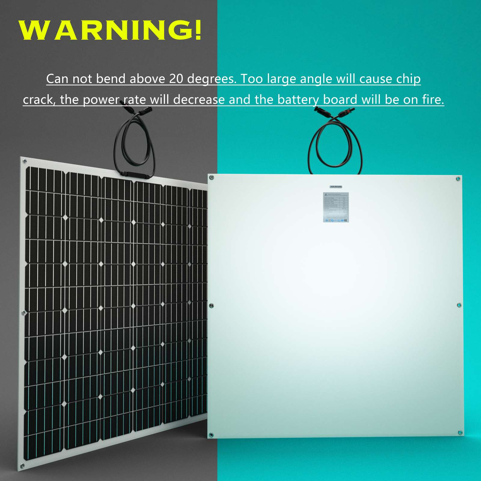 15-OFF-100W-120W-200W-250W-Flexible-Solar-Panel-Kit-Mono-Caravan-Power-Charging thumbnail 49