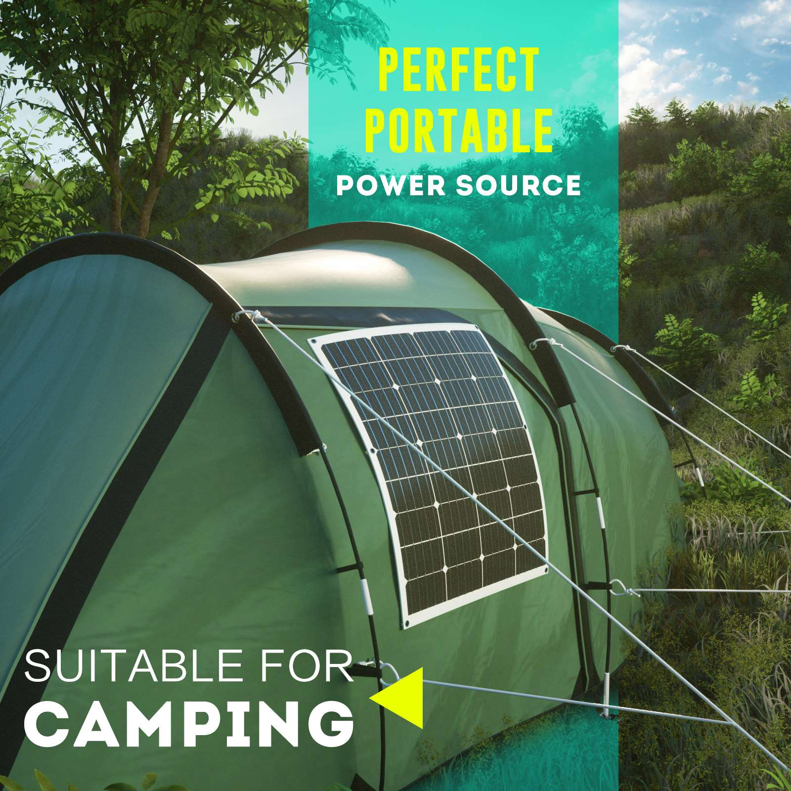 15-OFF-100W-120W-200W-250W-Flexible-Solar-Panel-Kit-Mono-Caravan-Power-Charging thumbnail 11