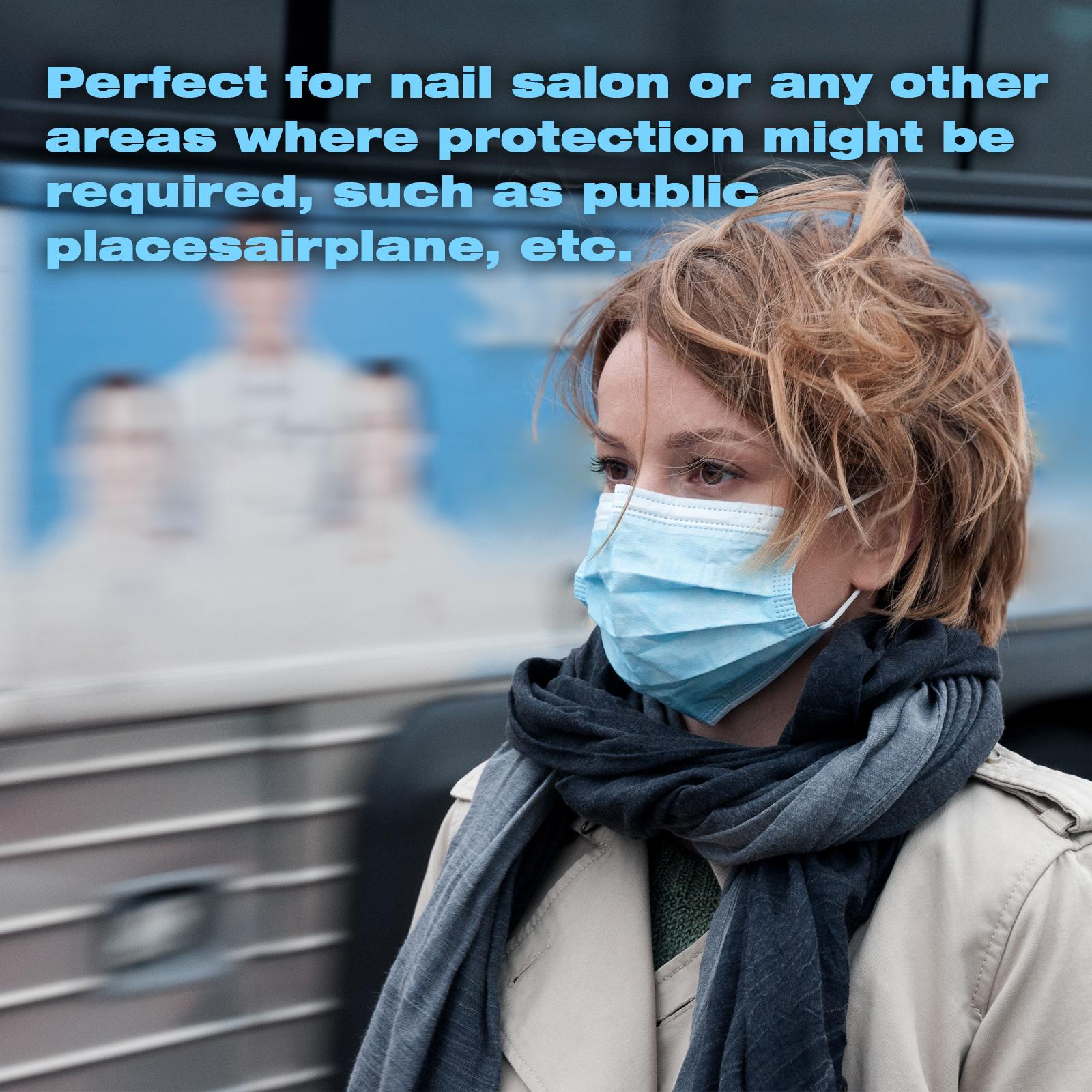 thumbnail 48 - 50/100pcs Disposable Face Mask Protective Mouth Masks 3 Layer Meltblown Filter